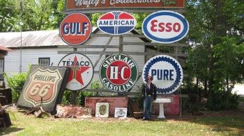 Antique store on Route 321, South Carolina going towards Savannah, Georgia.