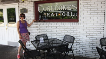 Corleone's is a wonderful Italian restaurant with amazing food, including home made Tiramisu that was to die for!