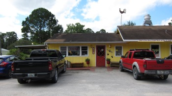 Sparky's Restaurant located in Astor, FL, just east of Ocala National Forest