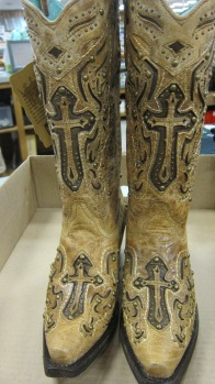 My new cowgirl boots