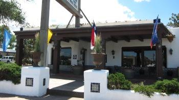 A quaint motel in Santa Fe