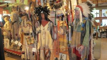 Costumes made by Emmy-winning costume designer, Cathy A. Smith for use in the movie, Dances with Wolves