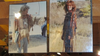 Kevin Costner in Dances with Wolves, wearing one of the costumes designed by Cathy A. Smith, co-owner of the Nambe Trading Post