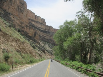 Big Horn National Forest - Amazing ride through the canyon