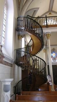 Loretta Chapel spiral staircase