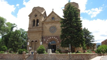 The Cathedral Basilica of St. Francis of Assisi built 1747-1717