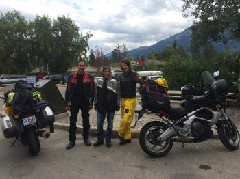 While in Jasper I met a couple of young motorcycle enthusiasts, Rayne from Vernon, BC and David from Vancouver.  Ride on my friends!