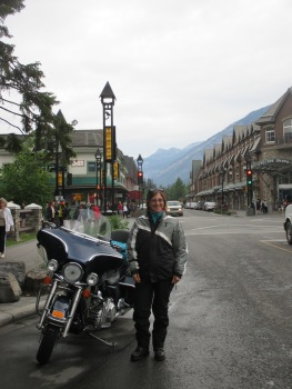 A stop in Banff for a little visit