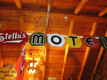 I remember Stella's Motel as a kid