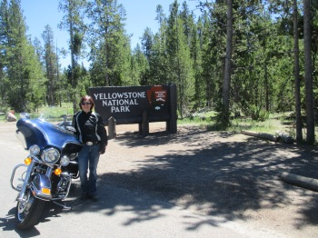 Welcome to Yellowstone Park!