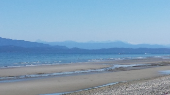 Qualicum Beach north of Parksville, BC