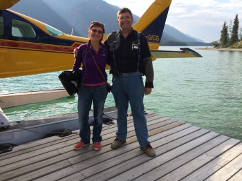 Urs is the owner of the Northern Rockies Lodge and pilot who took me up on what was one very awesome fight