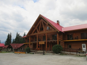 The Northern Rockies Lodge where I stayed while at Muncho Lake, BC.  The lodge offers excursions to remote fishing lodges accessible only by air...something new for my bucket list!
