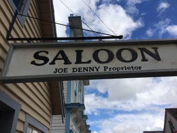 What would be a town without a local saloon where the  locals and the many travellers who came to strike it rich met to share their stories  of wow as few were actually successful in finding gold
