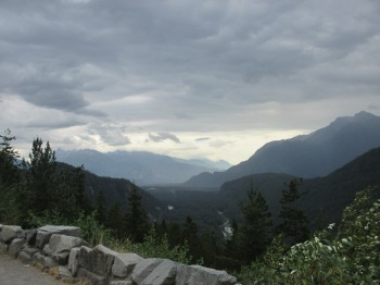 South of Whistler, BC