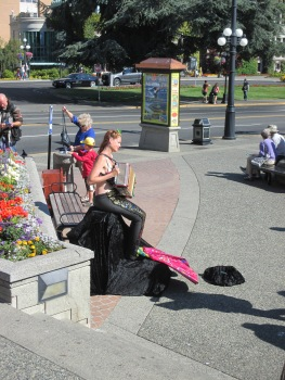 Mermaids with musical talents do exist...but only in beautiful BC