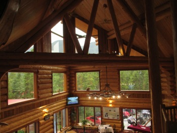 Inside the Northern Rockies Lodge at Munch Lake