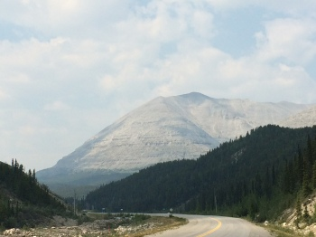 One of the peaks found in Stone Mountain Park, Mile 392 on the Historic Alaska Highway