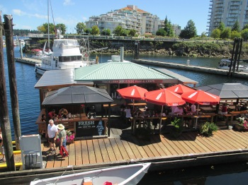 Trolls is a flooting restaurant in Nanaimo Harbour and a great place to enjoy some of the best fish and chips  on the Island!