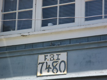A stop at the FBI was in order while visiting Vancouver Island