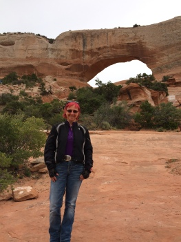 Wilsons Arch is south of Moab on Route 119 and just one of the many natural arches that Nature has carved out of the stone