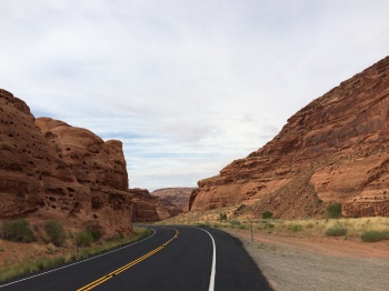 I love the way the road winds through the canyon - it made for an awesome ride!
