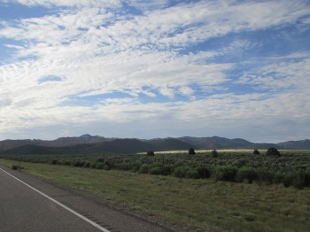 Outside of Panguitch, Utah on the way to Bryce Canyon National Park