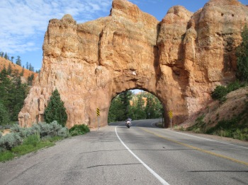 Another great photo from my ride in Red Canyon earlier in the day