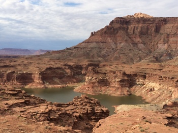 One of the beautiful vistas found on Highway 95, one of the Scenic Byways in Southern Utah
