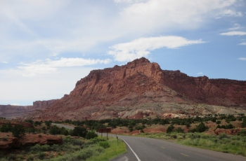Another amazing photo from the Capitol Reef National Park